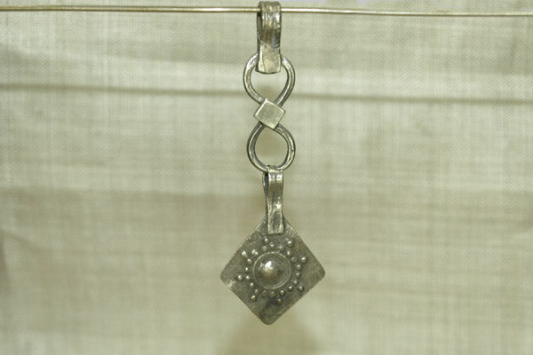 Coin Silver Ornamental Dangle from Afghanistan