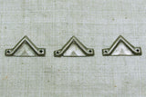Coin-Silver Triangle Links from Afghanistan