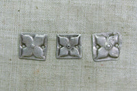 Stamped Flower Links from Afghanistan
