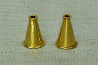 18 Kt Gold Cones from India