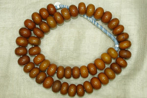 Antique Mauritania Amber Bead Necklace