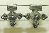 Coin Silver Berber Cross
