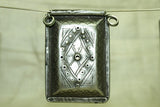 Vintage Silver Moroccan Prayer Box