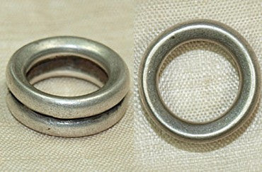 Antique Silver Ring From Ethiopia