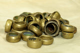 Small & Chunky Brass Hair Ring from Ethiopia