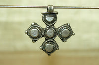 Vintage Silver Coptic Cross from Ethiopia