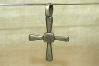 Vintage simple Silver Coptic Cross from Ethiopia