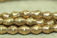 New 4.5 x 5mm Ethiopian Brass Bicones