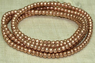 4.5mm New Copper Beads from Ethiopia