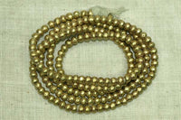 4.5mm New Brass Beads from Ethiopia
