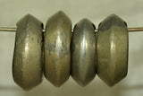 Set of 4 Brass Ethiopian Wedding Rings