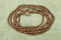New 2mm Copper Ethiopian Heishi