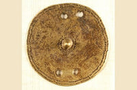 Old Etheopian Shield 100mm diameter