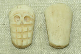 Big Grin Skull Bone Bead