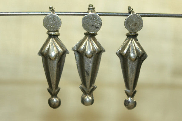 Old Silver Dangle Beads from India
