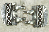 Pair of Vintage Silver Indian Pendants