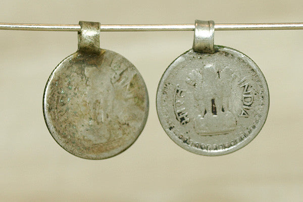 Vintage Nickel Silver pendant from India