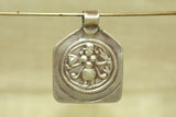 Antique Silver Hindu God Amulet