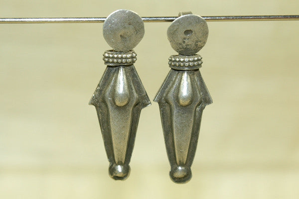 Old Silver Dangle Bead from India