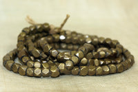 Antique Brass Beads from Northern India
