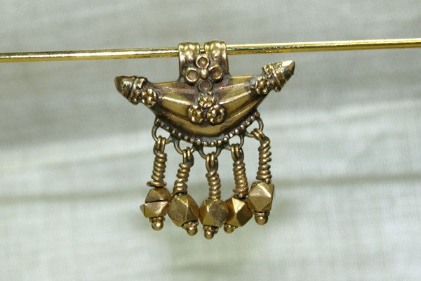 18K Gold Pendant from India