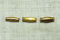 Elongated Bicone 18K Bead from India