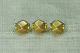 Faceted 18K India Gold Bead