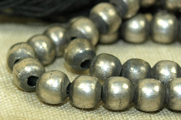 New Coin Silver Beads from India