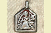 Devi Pendant from India