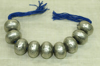 Large Silver Bead from India