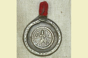 Antique Silver Lord Shiva Amulet