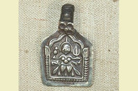 Antique Silver Hindu Amulet