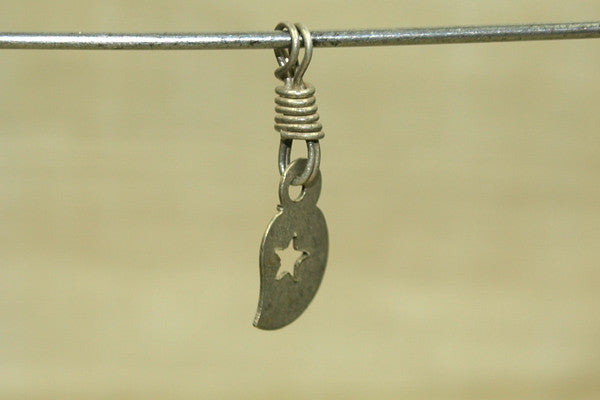 coin silver Dangle from India
