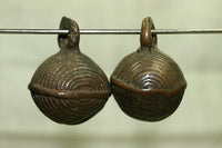 Small Antique Nigerian Brass Bells