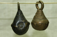 Antique Brass Bells from Nigeria, M