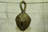 Large Antique Nigerian Brass Bell