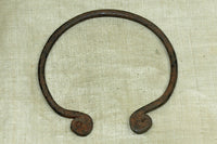 Rare Cameroon Bronze-iron Bracelet; Traditional Design