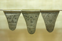 Set of three Small Rare Tuareg Pendants