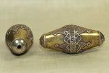 Elongated Bicone Turkman Bead