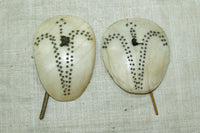Pair of Antique Tribal Earring from Nagaland