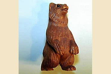 Grizzly Bear Ojime