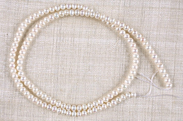Strand of Potato Shaped Pearls