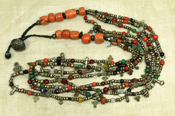Multistrand Berber Necklace