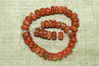 Mini Strand Antique Coral Beads from Yemen