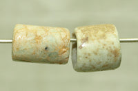 Pair of Ancient Amazonite Beads