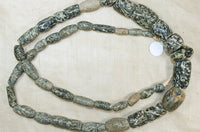 Strand of Ancient Granite Beads from Mali