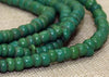 Medium Opaque Green 9º Venetian Seed Beads