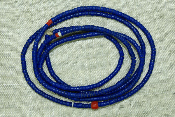 Opaque Cobalt Blue Cylindrical 10º Seed Beads