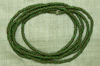 14º Moss Green Striped Seed Beads