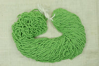 HUGE Hank of Vintage Green Seed Beads